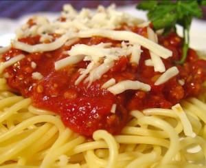 Быстрый соус для спагетти - фото