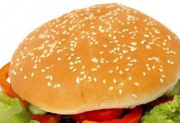 Овощной бургер - фото