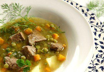 Суп из мяса с овощами - фото
