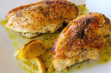 Фаршированное филе цыплячьей грудки в шалфейном соусе - фото