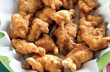Курица с миндалем - фото