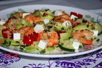 Салат из кускуса - фото