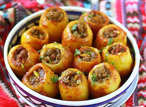 Фаршированный картофель - фото
